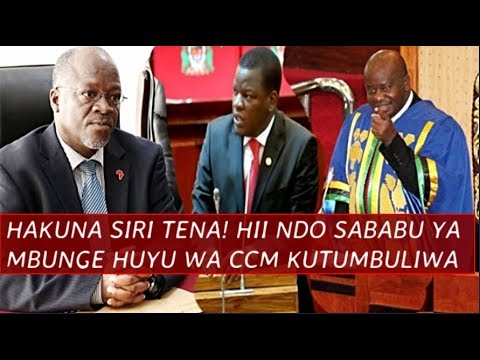 Hakuna siri Tena! Kumbe hii ndo Sababu ya Mbunge wa CCM Kutumbuliwa na Spika Ndugai, Rais Atajwa