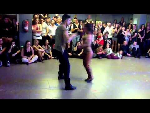 Kike y Fania. Shows, Costa daurada bachata festival 2012 (видео)