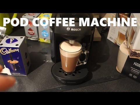 Tassimo Vivy (T12) - An Affordable Pod Coffee Machine