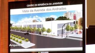VÍDEO: Obras do Centro de Referência da Juventude estão adiantadas