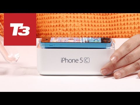 Apple iPhone 5c unboxing: Exclusive and first on YouTube. We get our hands on one of the first models in the world before it goes on sale this Friday with polycarbonate colourful casing a new camera and iOS 7. Take a look at our iPhone 5c unboxing to find