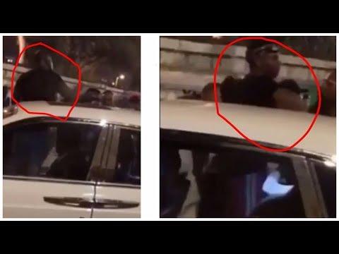 Wizkid & Davido Spotted In The Same Car During The Dubai Brawl