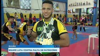 Equipe de kickboxing busca patrocínio para disputar o sul-americano