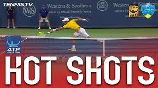 Mischa Zverev shows off his prowess at the net against Fernando Verdasco on Monday in Cincinnati. Watch live matches at ...