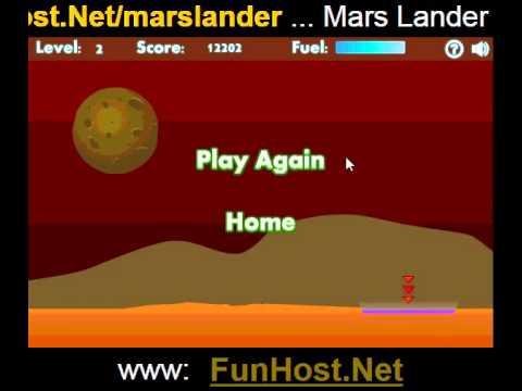 Mars lander - joc Video