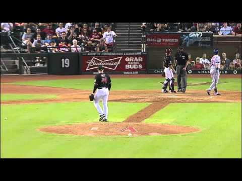 Chase Field Audio Guy Accidentally Plays Really Loud Sound Clip Right as the Pitcher is Throwing the Ball