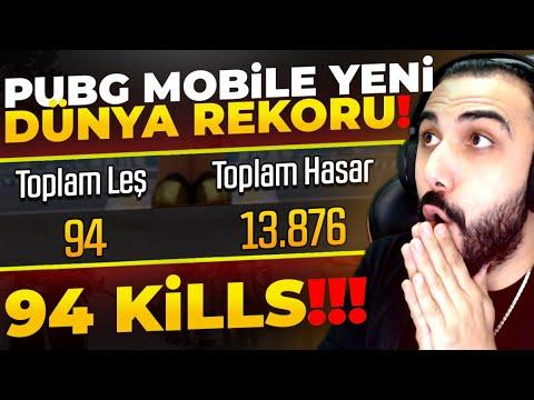 94 KILLS!! 😮 YENİ DÜNYA KILL REKORUNU KIRDIK!! | PUBG MOBILE