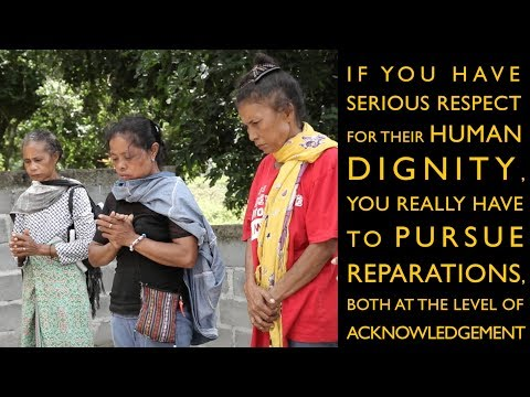 Transitional Justice in Asia Video Series - #4 - Reparations