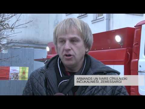 Inčukalna brīvprātīgajiem ugunsdzēsējiem - pirmajiem Latvijā pašiem savs ugunsdzēsības auto