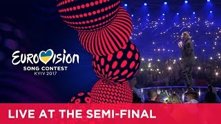 Video Salvador Sobral - Amar Pelos Dois (Portugal) LIVE at the first Semi-Final MP3, 3GP, MP4, WEBM, AVI, FLV Juli 2017