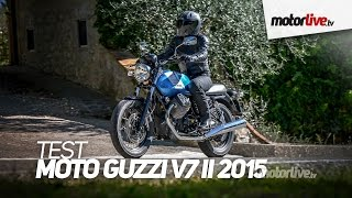 6. TEST | MOTO GUZZI V7 II 2015 - Plus facile et plus sûre !
