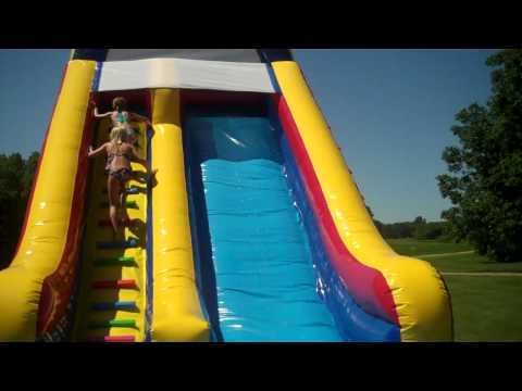 Inflatable Water Slide Fun - Jump for Joy Bounce Houses