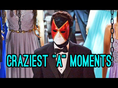 """Pretty Little Liars: CRAZIEST """"A"""" MOMENTS Countdown!! 