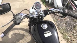 3. 2008 Honda CMX250C Rebel Engine test run