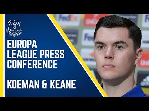 Video: KOEMAN & KEANE: EUROPA LEAGUE PRESS CONFERENCE