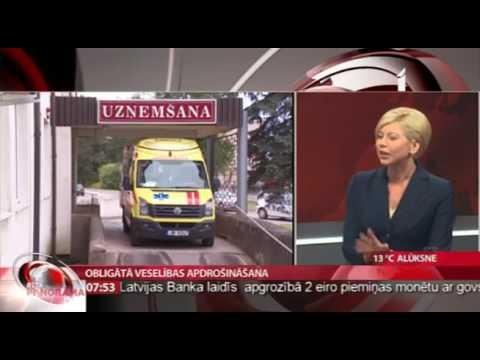 Veselības ministre Anda Čakša intervijā LTV raidījumā Rīta Panorāma