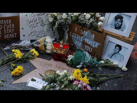 Αρίθα Φράνκλιν: Συγκίνηση και μηνύματα αγάπης για τον χαμό της…