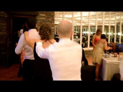 Conga con Lori Meyers en la boda de Álex y Raquel (Lugo, 30/5/2015)