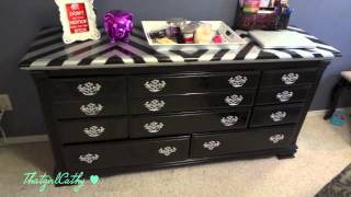Dresser GLAMover {Chevron Print} - YouTube