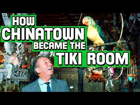 How Chinatown Became the Tiki Room