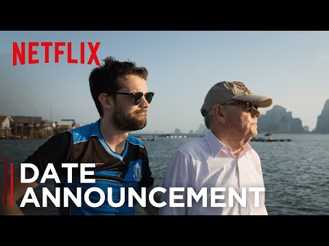 Jack Whitehall: Travels With My Father | Date Announce  [HD] | Netflix