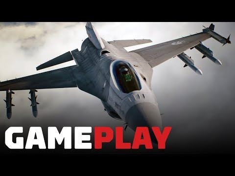 Ace Combat 7: 7 Minutes of Brand New Single-Player Gameplay