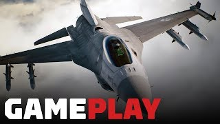 Ace Combat 7: 7 Minutes of Brand New Single-Player Gameplay by IGN