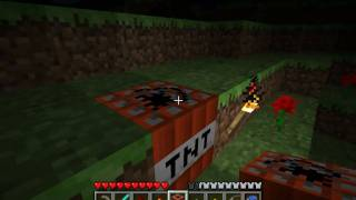 Minecraft Tutorials - E22 - How to Survive&Thrive (Switches and TNT)