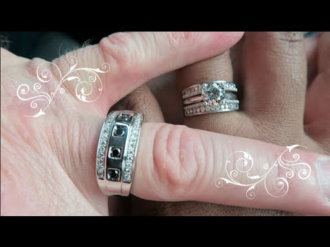 LOVELY INTERRACIAL MARRIAGE | BEAUTIFUL INTERRACIAL LOVE  | ANNIVERSARY RING ENHANCER | Vlog #46