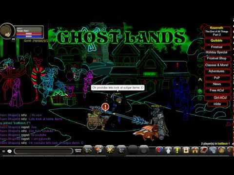 aqw private server - Ghost Lands-1 to 45 JOIN NOW!!!!!!! Pass: 123 Link: Actually, I don't want AE to shut it down, PM me for link. Either way it still will be in Hamachi xD Ther...