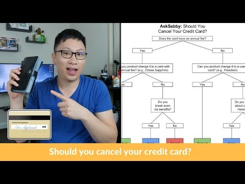 When Should You Cancel Your Credit Cards?