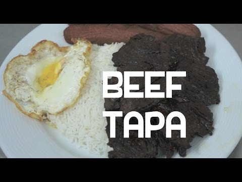 Beef Tapa Recipe – Filipino Beef Jerky – Tagalog Pinoy Cooking