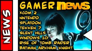 Gamer News . Tron 3, XCOM 2, Tomb Raider, Windows 10, Tekken 7, Batman, Nintendo, windows 10, windows 10 for phone, windows 10 for pc, windows 10 microsoft