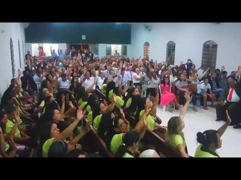 Irmãs Andrads em Campo Alegre de Goiás Congresso de Jovens e Círculo de Oração.