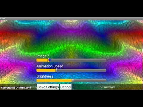 Video of Magic Color Live Wallpaper