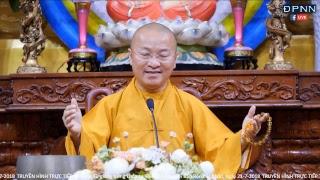 TT. Nhật Từ giảng trong khóa tu Thiền Cho Người Bận Rộn