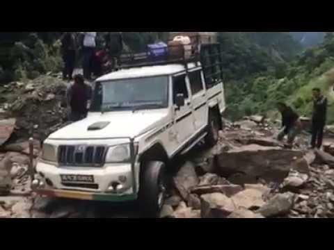 Road constructionWorld most dangerous road manang highway| Nepal