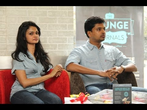 Singer Suchitra at Coffee Day Lounge Part 1