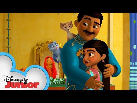 Mira Celebrates Diwali 🥳  | Mira, Royal Detective | Disney Junior