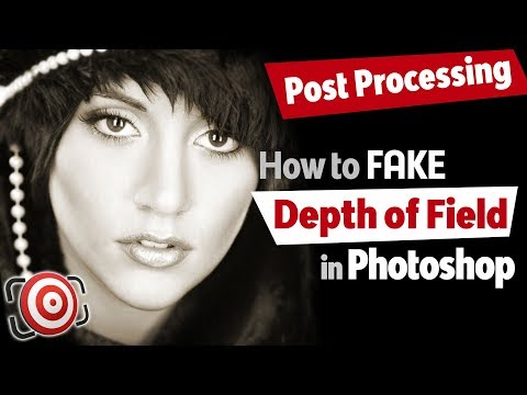 Create Shallow Depth Of Field In Photoshop Tutorial - Background Blur