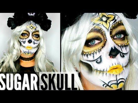 Maquillage Halloween : Sugar Skull / Calavera Make Up