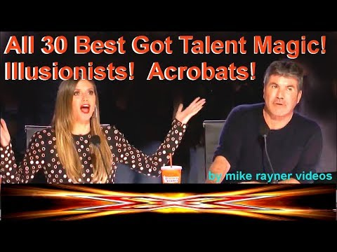 Top 30 Best Got Talent Magic! Illusionists! Acrobats! Amazing Worldwide Auditions 2018!
