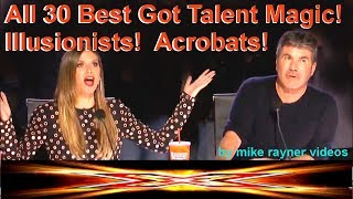 Video Top 30 Best Got Talent Magic! Illusionists! Acrobats! Amazing Worldwide Auditions 2018! MP3, 3GP, MP4, WEBM, AVI, FLV Oktober 2018