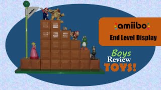 Nyjah got an Amiibo End Level Display for Christmas.  Check out how to build it and decorate with Amiibos!