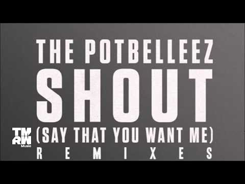 The Potbelleez - Shout (Say That You Want Me) (House Re Rub)