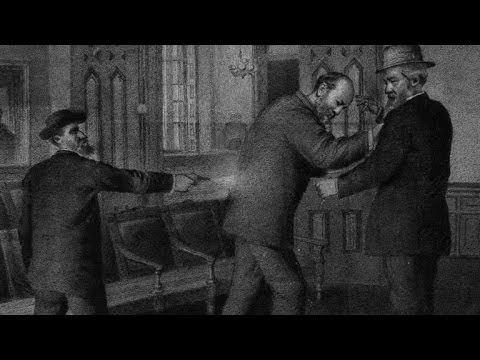 The tragic death of President James Garfield