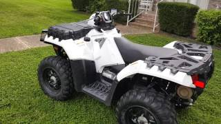 9. White Lightening 2015 Polaris Sportsman 850 HO