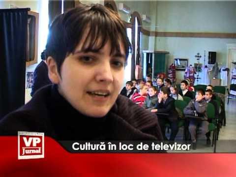 Cultură în loc de televizor