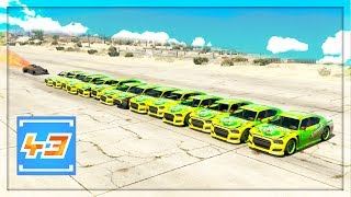 We're back for more gta 5 mods gameplay and today we're launching the ramp car into a line of cars. Among other funny moments. If you want to become a Team 43 Member and be notified when I post a new video, MAKE SURE TO SUBSCRIBE!: https://goo.gl/M1F1GOMERCH.....https://represent.com/store/olli43Twitter......................►https://twitter.com/ollihullFacebook.................►http://facebook.com/olli43ytInstagram................►http://instagram.com/olli43ytWebsite....................►http://olli43.comSubreddit.................►http://reddit.com/r/olli43