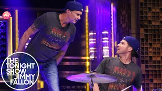 Will Ferrell and Chad Smith Drum-Off - YouTube